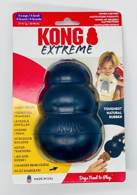 £8.88 • Buy KONG Genuine Extreme Rubber Dog Chew Toy*