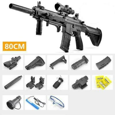 $104.99 • Buy M416 2 In 1 Mode Electric Manual Blaster Toy Water Gun Kid Toy Gift +toy Bullets