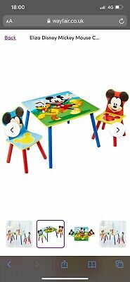 £38 • Buy Brand New & Boxed Disney Mickey Mouse Toddler Table And Chair Set £40
