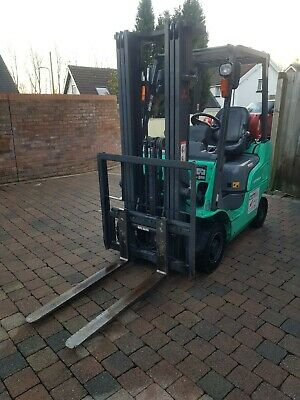 £5999 • Buy Mitsubishi GAS Forklift 1.5 Ton FG15NT 1 OWNER FROM NEW LOW 3270 HOURS