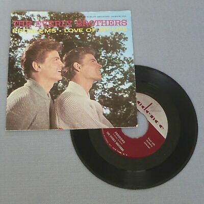 $3.99 • Buy EVERLY BROTHERS • Problems (1958 US PS & 45) LISTEN MP3