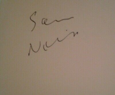£125 • Buy Sam Neill Signed Autograph Book Page