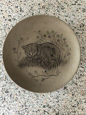 £3 • Buy Poole Pottery Small Cat Plate
