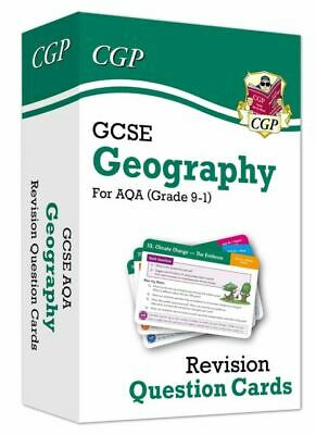 £0.99 • Buy Grade 9-1 GCSE Geography AQA Revision Cards By CGP Books (2019, Cards)