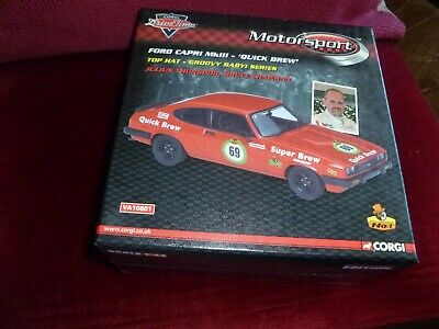 £10.50 • Buy Ford Capri Red Limited Edition Corgi Drive Time Motorsport 1:43 Rally Car