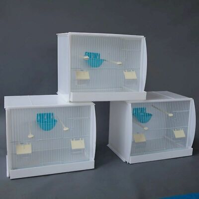 £86.59 • Buy Set Of 3 Stackable Canary Finch Breeding Bird Cage With Nest Pan