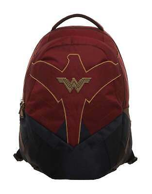 £39.99 • Buy Wonder Woman Backpack Bag W Logo New Official DC Comics Red