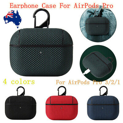 AU12.56 • Buy Apple Airpods Pro 3/2/1 Case Nylon Shockproof Protective Earphones Cover Case