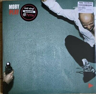 £85 • Buy Moby - Play (red 2lp,180gramm)  2 Vinyl Lp New/sealed