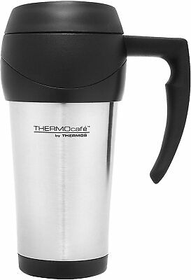 AU12.75 • Buy NEW Thermos THERMOcafe Insulated Travel Mug 450ml Stainless Steel DF4000SS AU