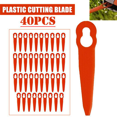 £4.79 • Buy 40x Plastic Cutter Blades For STIHL FSA 45 Cordless Strimmer Grass Trimmer Tool