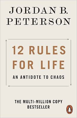 AU14.05 • Buy 12 Rules For Life: An Antidote To Chaos By Jordan B. Peterson | PAPERBACK BOOK