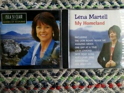 £7.99 • Buy Isla St. Clair And Lena Martell - TWO CDs
