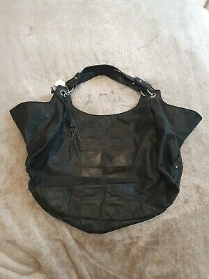 £34.95 • Buy Religion Womens Large Black Over Sized Slouchy Shoulder Bag New Rrp £65