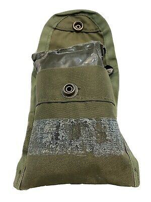 $9.95 • Buy Bandage Post Vietnam War Era U.S. Army First Aid Pouch 1979 Compass M-1956 Type