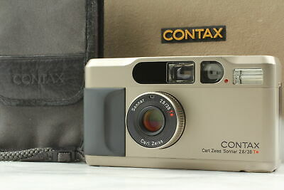 $ CDN1396.72 • Buy MINT IN BOX Contax T2 35mm Point & Shoot Film Camera From JAPAN