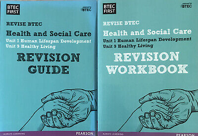 £7.60 • Buy Health And Social Care BTEC Revision Guide + Workbook Pearson