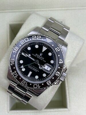 $ CDN15855.21 • Buy 2008 Rolex GMT-Master II Stainless Steel Automatic Watch - 116710 - Box Included