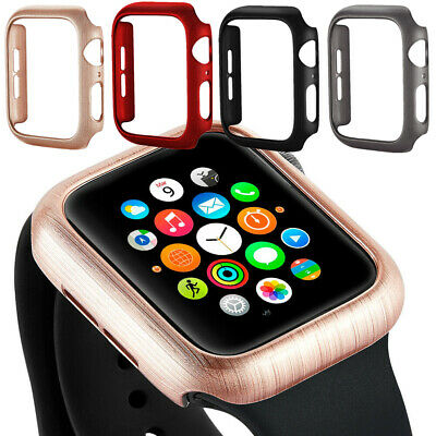 $ CDN7.95 • Buy For Apple Watch Series 6 5 4 3 2 1 PC Protective Case Cover Bumper 38 42 40 44mm