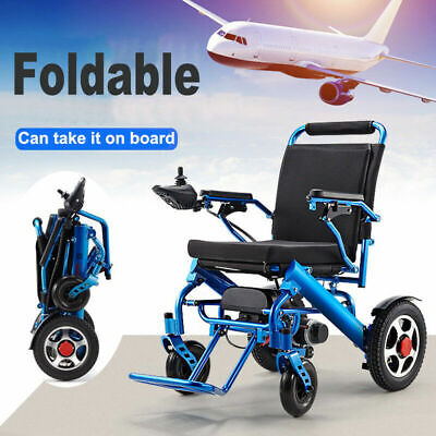 £925.99 • Buy Folding Lightweight Electric Power Wheelchair Medical Mobility Aid Motorized