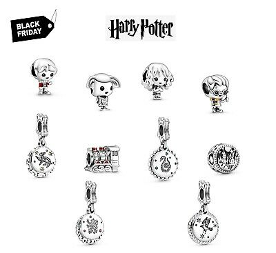 £8.25 • Buy New Authentic Pandora Harry Potter  Dobby Hermione Ron Weasley Charm Uk + Pouch