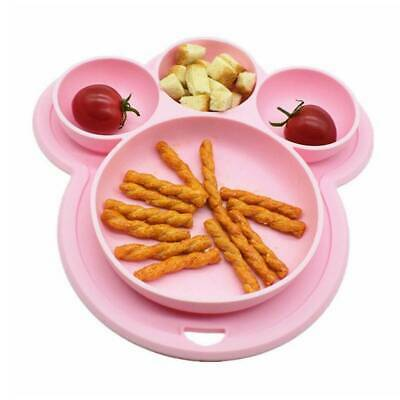 £5.59 • Buy Baby Snack Silicone Mat Toddler Placemat Happy Kids Mat Table Food Suction TrayG