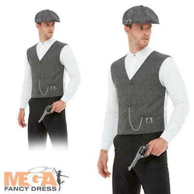 £20.99 • Buy Mens Shelby Instant Kit Fancy Dress 1920s Peaky Blinders Adults Costume Outfit