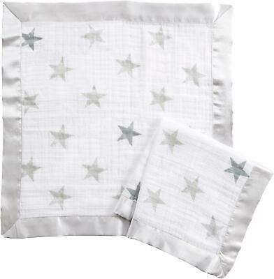 £10.99 • Buy Aden + Anais ESSENTIALS SECURITY BLANKETS - DUSTY - 2 PACK Baby Comforter BN