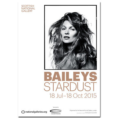 £1 • Buy Kate Moss Bailey's Stardust Exhibition Poster