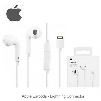 £15.50 • Buy Orignal Apple EarPods In Ear Wired Headphones With Lightning Connector White