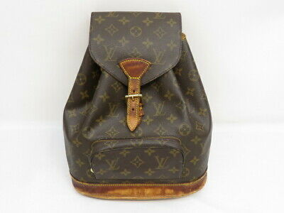 $110.50 • Buy Louis Vuitton Montsouris MM Backpack Monogram #M51136 Pre-owned