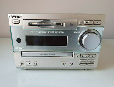 £64.99 • Buy SONY Hi-Fi Component System Amp Mini Disc CD Radio Player DHC-MD333