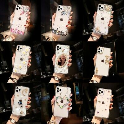 AU11.66 • Buy Luxury Bling Diamond Glitter Clear Case For IPhone 12 11 Pro Max XS XR 8 7 6