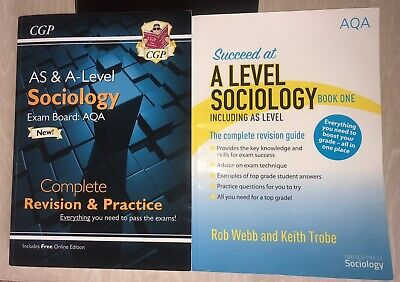 £11.50 • Buy A-level Sociology (AQA) - AS & A-level Complete Revision & Practice (2020)