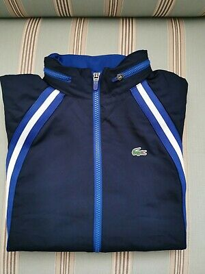 £40 • Buy Teens Lacoste Hooded Tracksuit Top Size S New