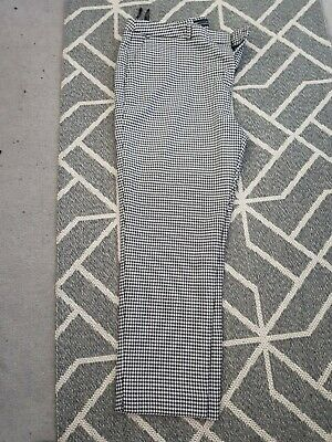 £4.99 • Buy Ladies Dorothy Perkins Check Trousers Size 18