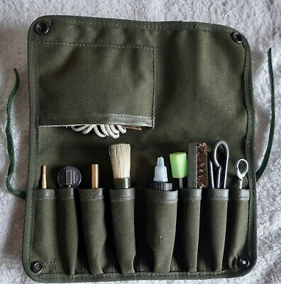 £16.50 • Buy SA80 MAINTENANCE, CLEANING KIT, 5.56mm, BRITISH MILITARY. CADET, CLEANING. LOT 2