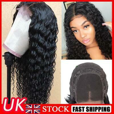 £8.51 • Buy Brazilian High Density Lace Front Wig Synthetic Loose Curly Wave Long Black Hair