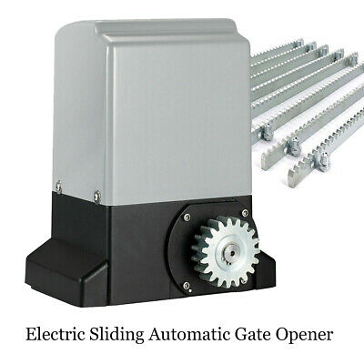£146 • Buy Electric Sliding Automatic Gate Opener Motor Operator 370W W/ Remote Control