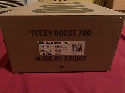 $ CDN669.93 • Buy Adidas Yeezy Boost 700 Wave Runner Size 12 Great Condition