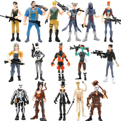 $ CDN26.25 • Buy 8Pcs /set Fortnite Character Movable Doll Xbox Ps4 Pc Table Decoration Toy Gift