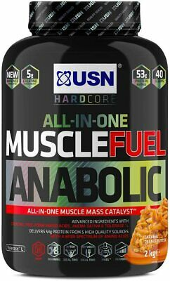 £24.99 • Buy USN Muscle Fuel Anabolic Protein ShakeCaramel Peanut, 2 Kg