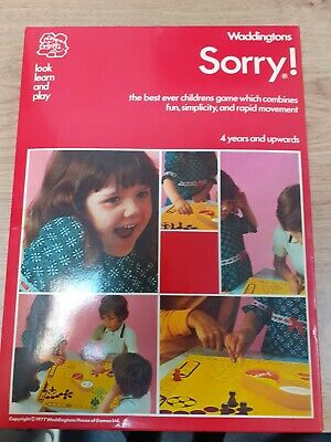 £10 • Buy Vintage Retro Sorry! Board Game RSPCA Middlesex/Herts