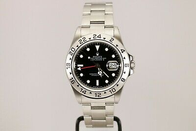 $ CDN11323.35 • Buy Rolex Explorer II 16570 Black Dial Automatic Watch U Series With Papers