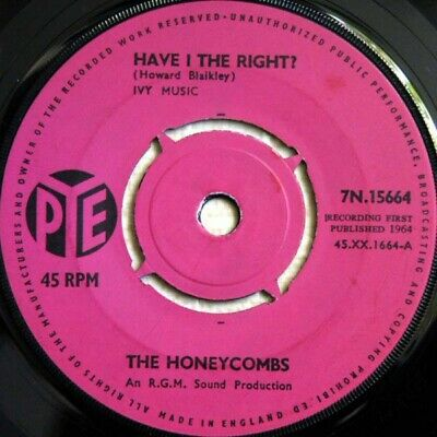 £7.99 • Buy The Honeycombs - Have I The Right? (7 , Single, Pus)