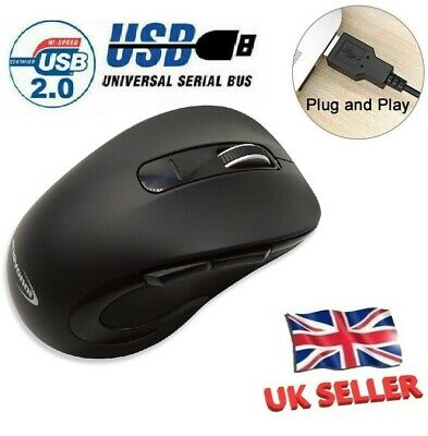 £3.49 • Buy Wired USB Optical Mouse,Wireless Mouse,Bluetooth Mice For PC Laptop Mac Computer