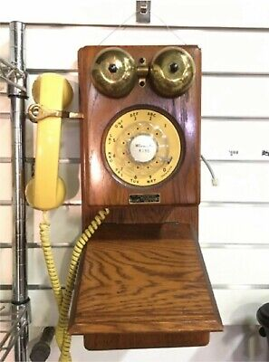 £113.27 • Buy Vintage Country Store 1927 Spirit Of St. Louis Replica Wooden Wall Telephone