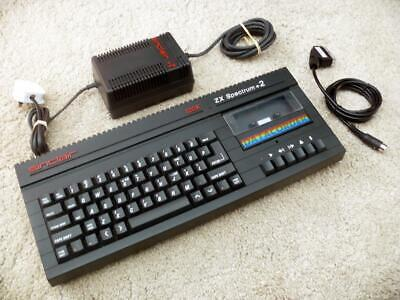 £129.99 • Buy Sinclair ZX Spectrum +2B Computer With Power Supply / SCART ~ Tested / Clean
