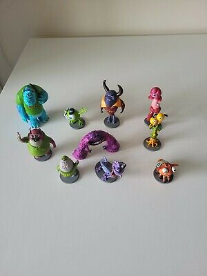 £19.99 • Buy Disney Monsters Inc University Figures X10 Bundle Cake ToppersSully Mike