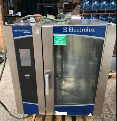 £1600 • Buy Electrolux Air-o-steam Touchline 10 Grid Electric Combi 3 Phase